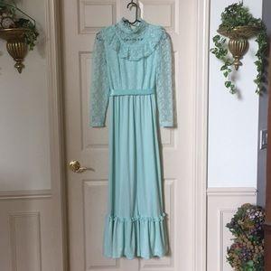 Minty Vintage Gunne Sax Prairie Dress